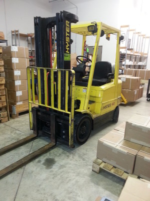 Excel Automation warehouse & fork truck