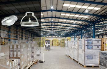 DiaLight LED highbay, lowbay & linear fixtures