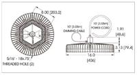 Durosite LED Highbay structural diagram