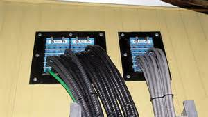 Roxtec cable entry system for wall pass through