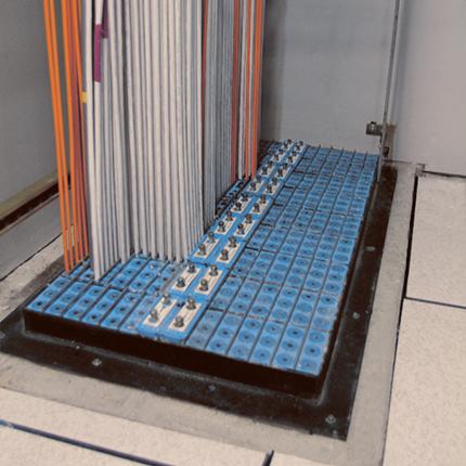 Roxtec frame installation